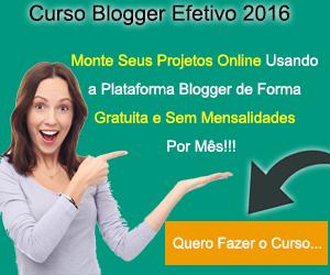 Curso Blogger Efetivo 2016