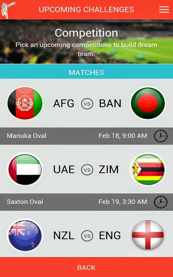 ICC Cricket World Cup 2015 Fantasy Android App released+Download 6