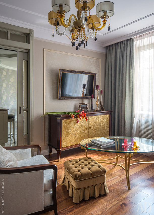 Home Tour: A Moscow charming apartment of 133 m² - Cool Chic Style Fashion
