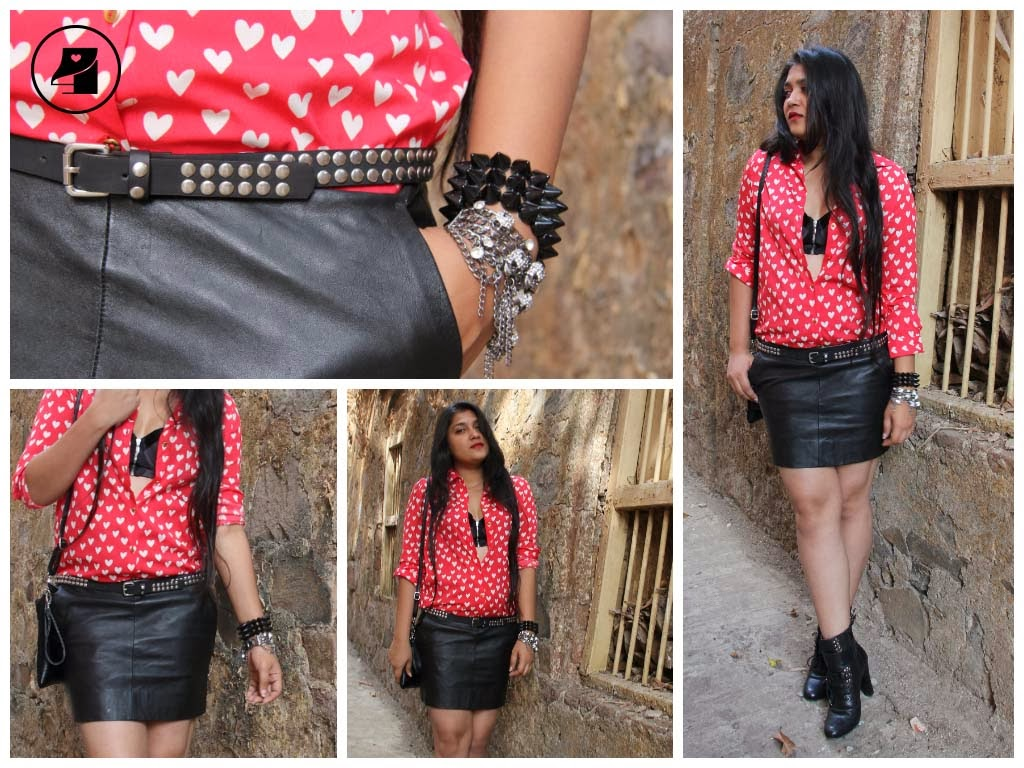 heartprint shirt hearts heartprintfashion head2heels leather