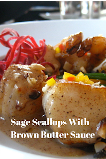 Sage Scallops With Brown Butter Sauce