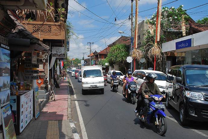 Tráfico en la calle
