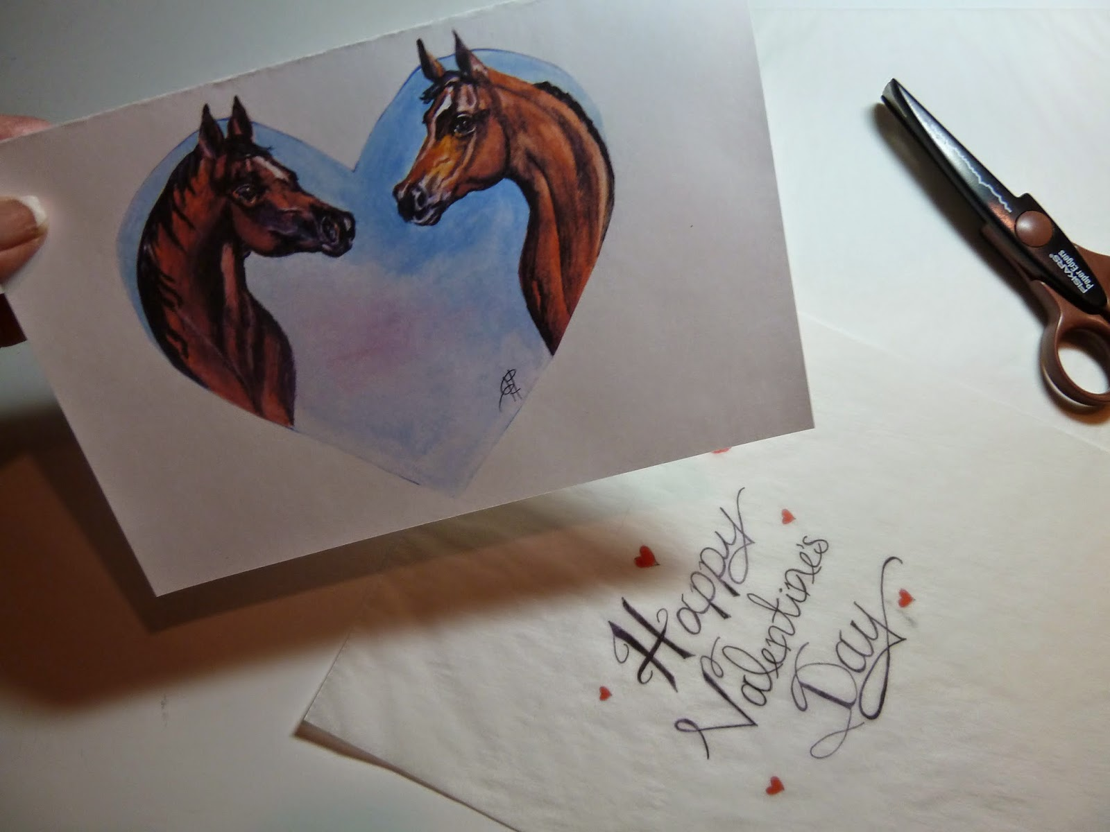 make it easy crafts horse lover free printable valentine