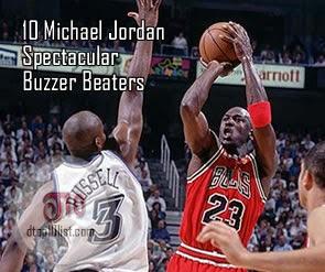Top 10 Michael Jordan Spectacular Buzzer Beaters