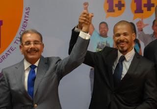 Félix Sánchez respalda  candidatura de Danilo