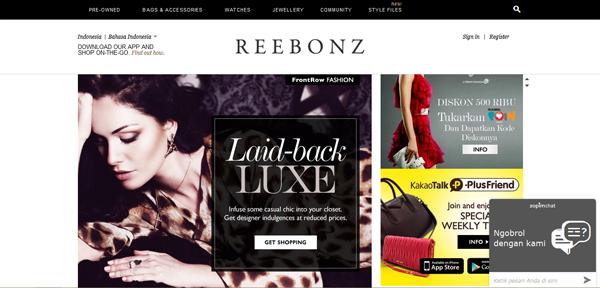 Reebonz.co.id Toko Online Fashion Terpercaya