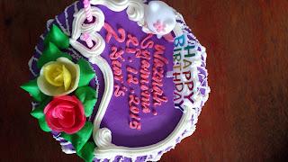 Sambutan Birthday Syamimi DI TAska Emas Hijau