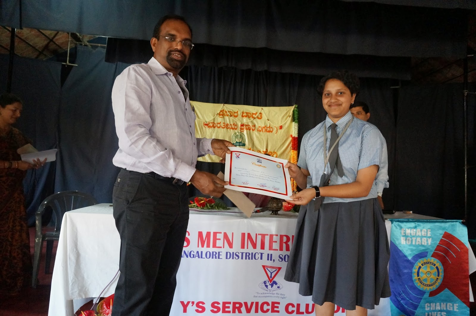 prasar bharati parivar all radio madikeri conducted essay all radio madikeri andy s men international bangalore jointly conducted essay competition for high school college students and general public