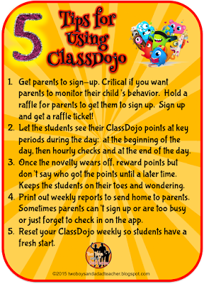 5 tips for using ClassDojo in the classroom