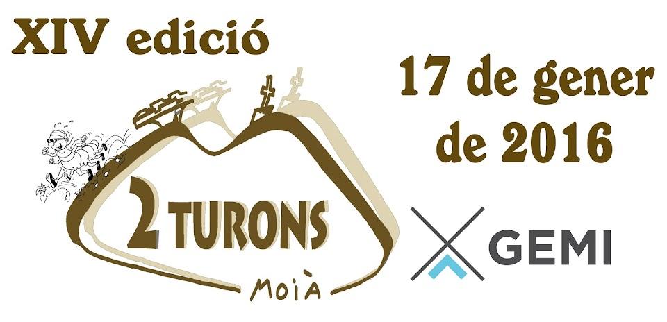 XIV cursa de muntanya 2 TURONS