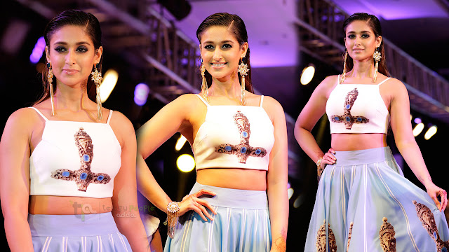 Illeana Latest Ramp Walk Stills For Smile Foundation