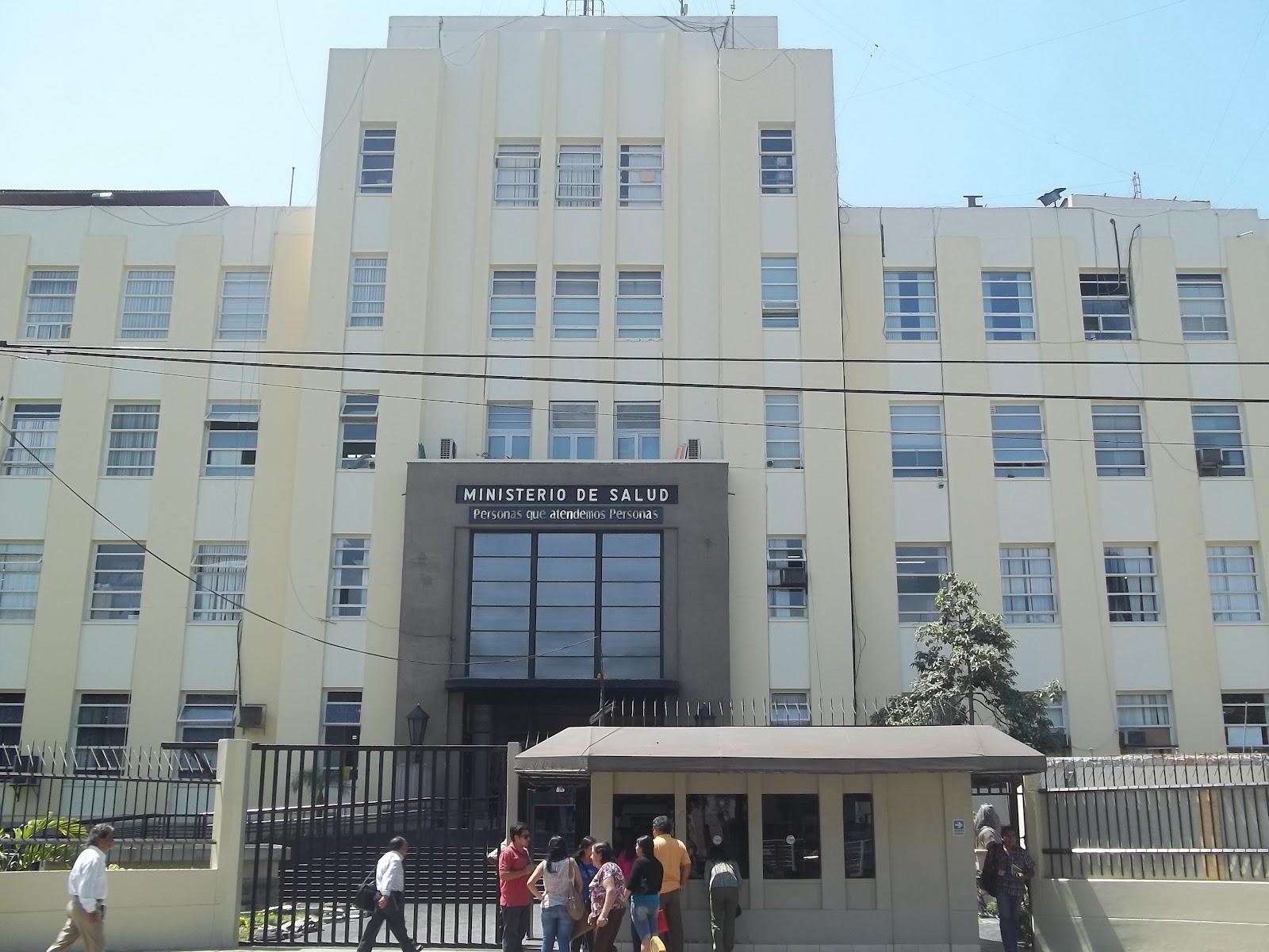 Yo s de medicina ministerio de salud del per minsa for Ministerio del interior ubicacion mapa