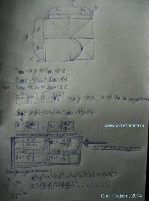 Тайна числи пи. Выведение формул. Математика для блондинок.