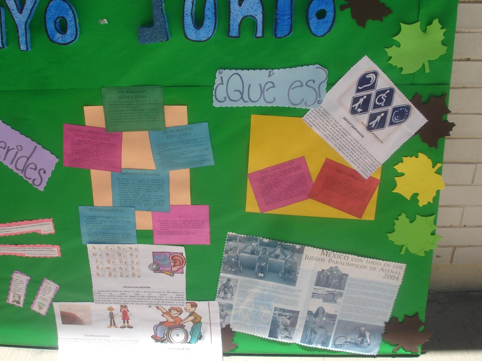 Observaci n del proceso escolar mayo 2012 for Concepto de periodico mural