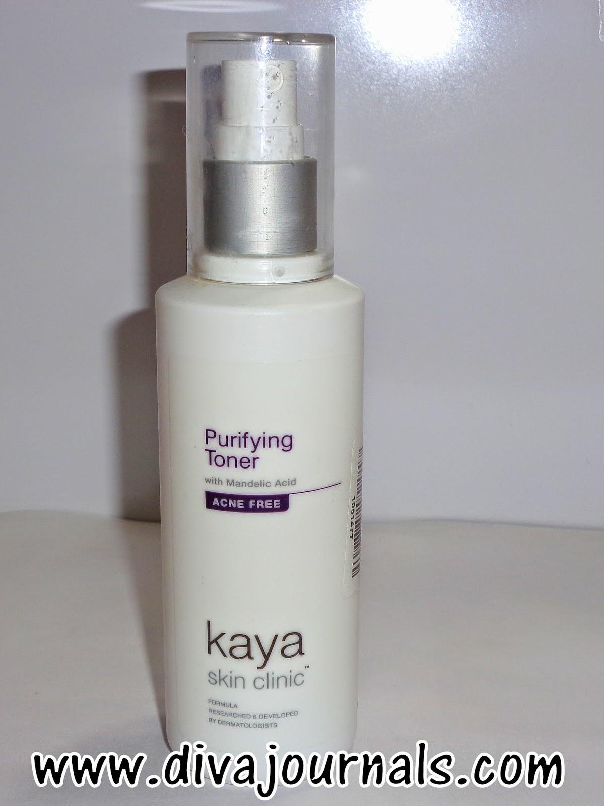Kaya Acne-free Purifying Toner Review