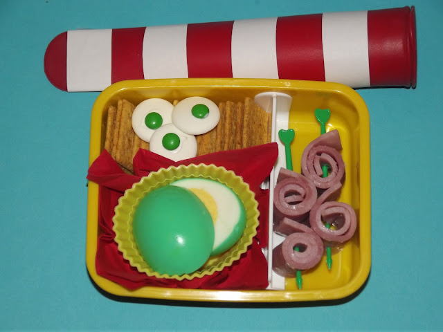 Cat in the Hat and Green Eggs and Ham