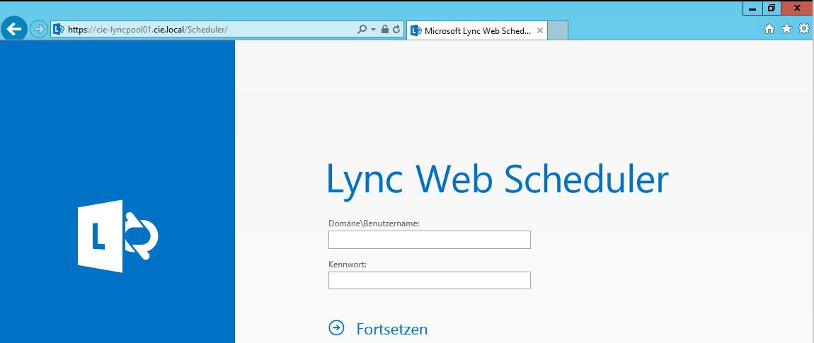 Lync 2013 Web Scheduler (How to setup guide)