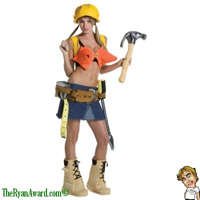 Sexy Halloween Costume - Construction Worker