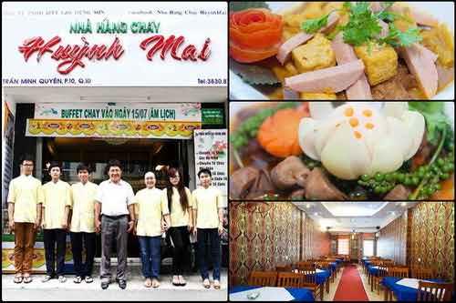 Thế giới ẩm thực chay phong phú tại Nhà hàng Quỳnh Mai, ẩm thực chay, địa điểm ăn uống 365