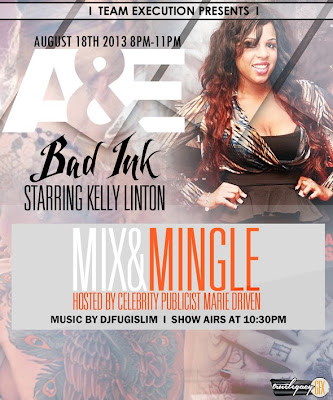 event} A&E Bad Ink viewing party 8/18 8-11pm