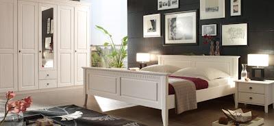 dormitorio negro blanco