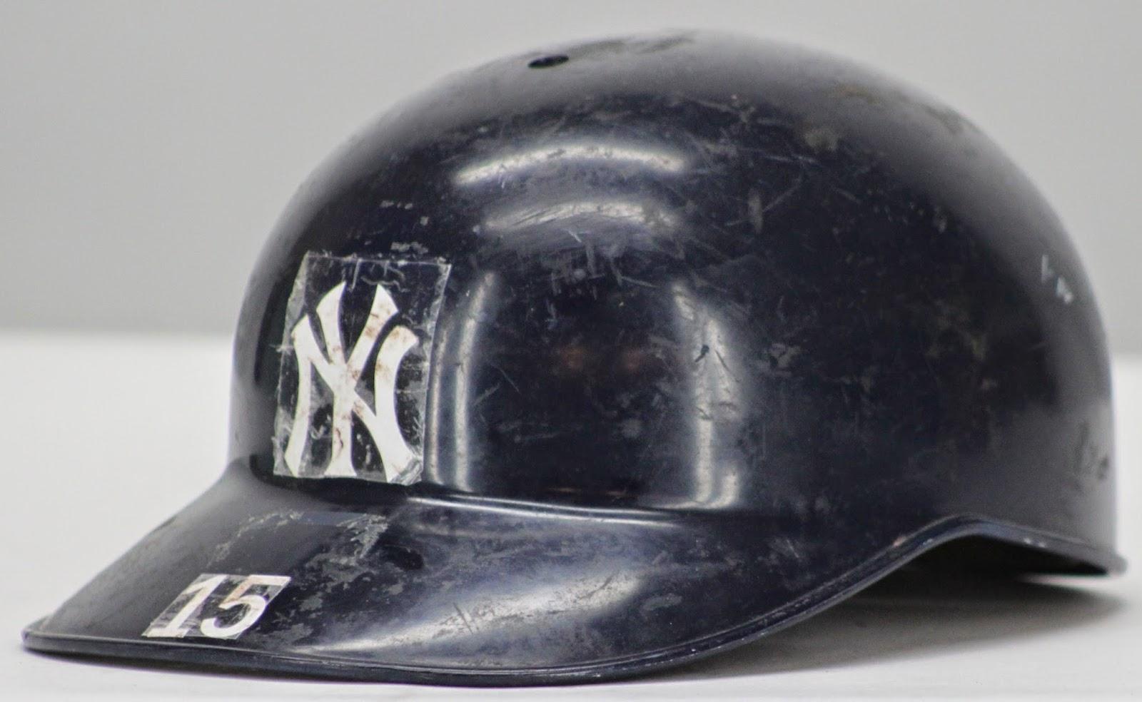 Thurman Munson number 15 helmet