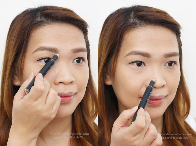 a photo of how to use Kate Tokyo 3D Eye Create