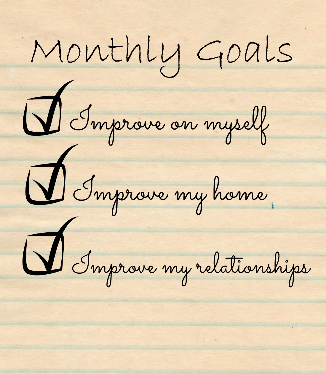 Seeking Sandy February Goals