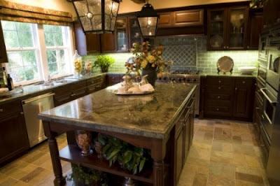 Decoraci n de interiores tipos de encimeras para la cocina for Tipos de granito para cocina