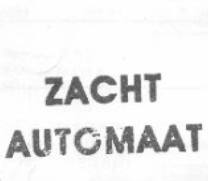OFFICIAL ZACHT AUTOMAAT