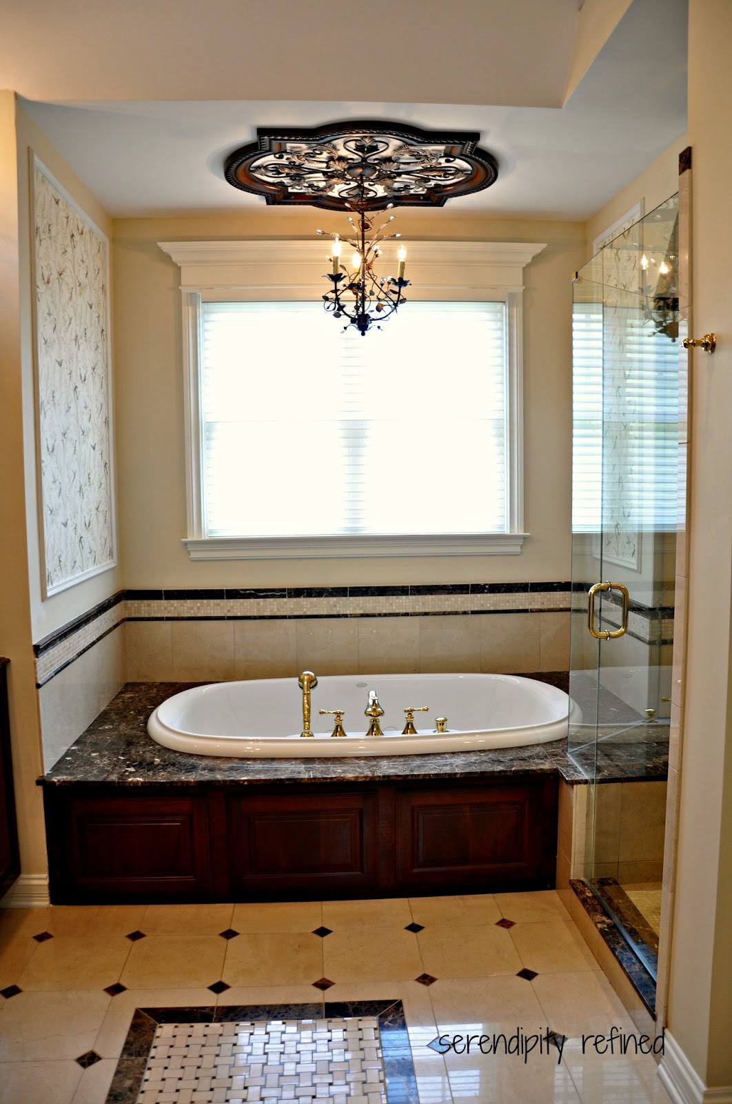 Serendipity Refined Blog Master Bathroom Reveal