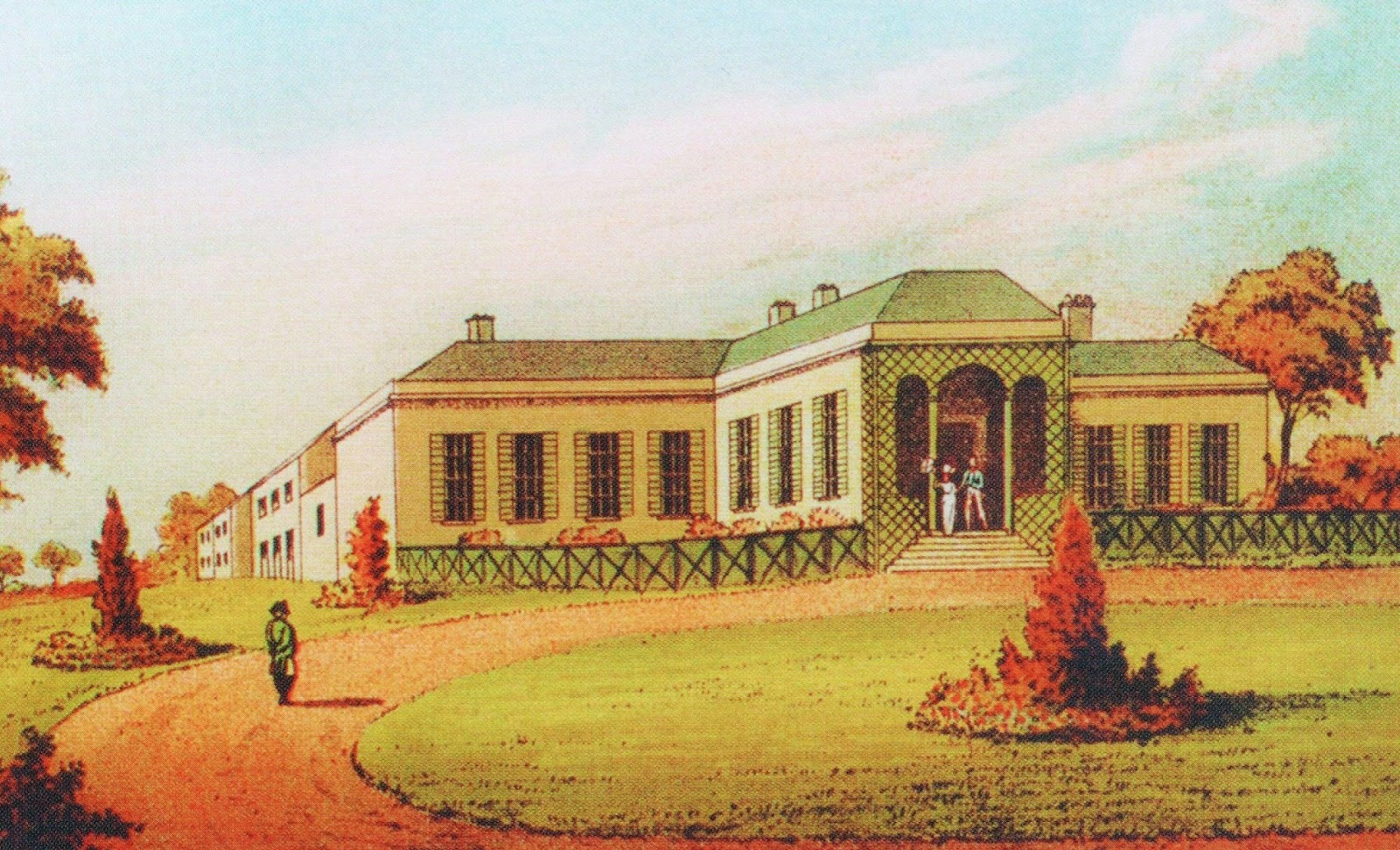 Longwood House 1816 U2013 Napoleonu0027s Home On St. Helena
