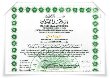 sertifikat halal oleh MUI