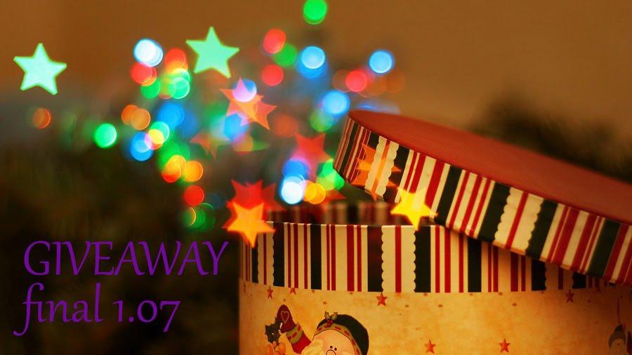 В моём блоге новый Giveaway. Финал - 1.07!