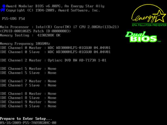 Identificação de BIOS