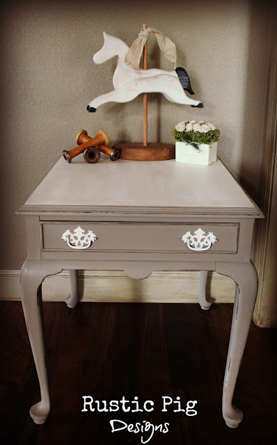 French End Table The Rustic Pig