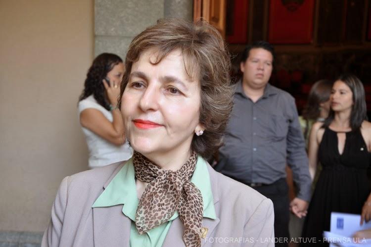 Patricia Rosenzweig Levy, vicerrectora Académica ULA. (Foto:  Archivo  Lánder Altuve)