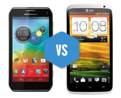 Photon Q vs. The HTC One X