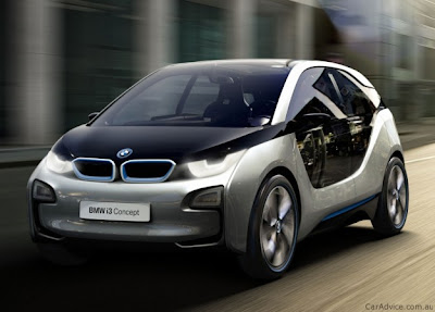 bmv concept cars - i3 - electric car