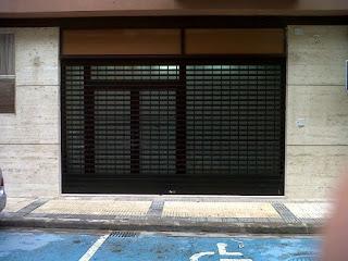 Reparación de persianas para comercios en La Almunia