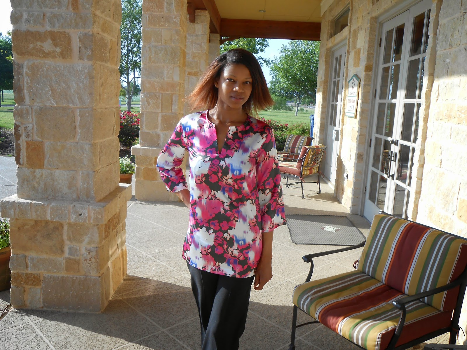 The sewing cpa simplicity sew simple a1489 tunic top right now my sewing formula is simple pattern beautiful fabric gorgeous garment simple easy patterns help me to better be able to fit sewing into my jeuxipadfo Images