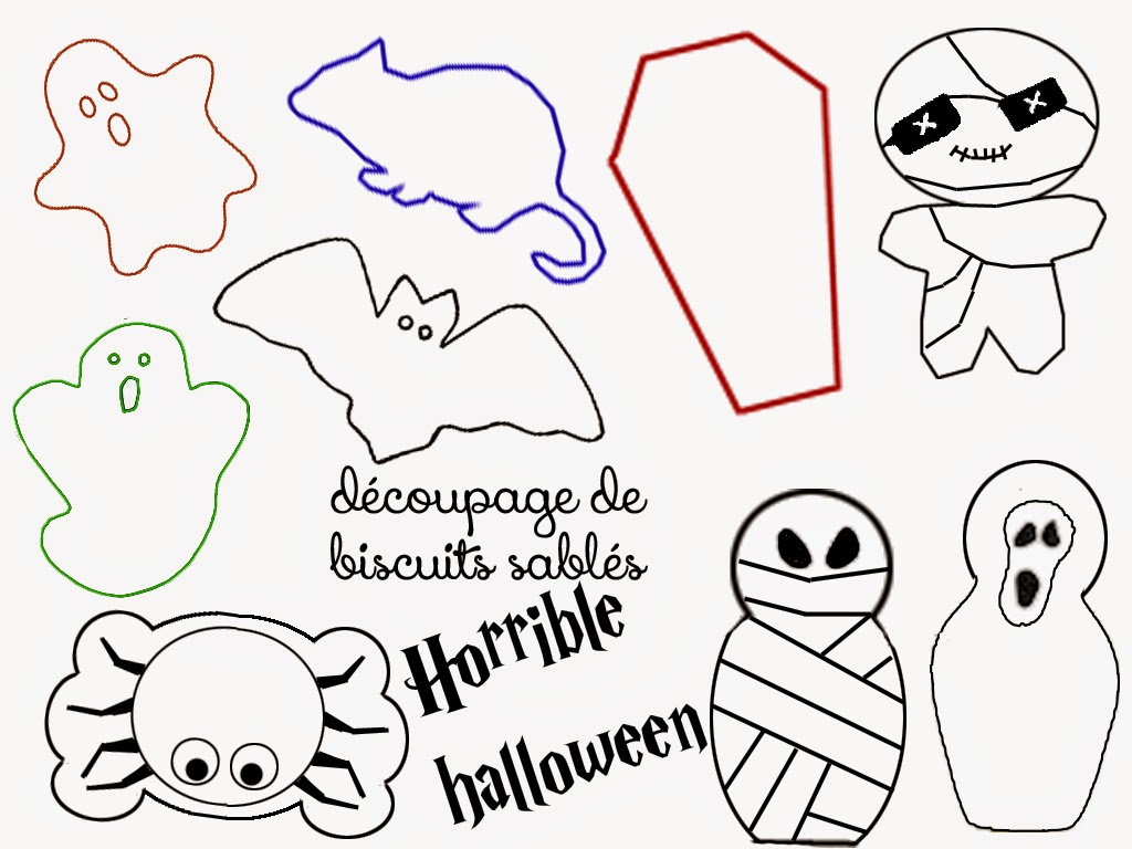 Halloween Box Template
