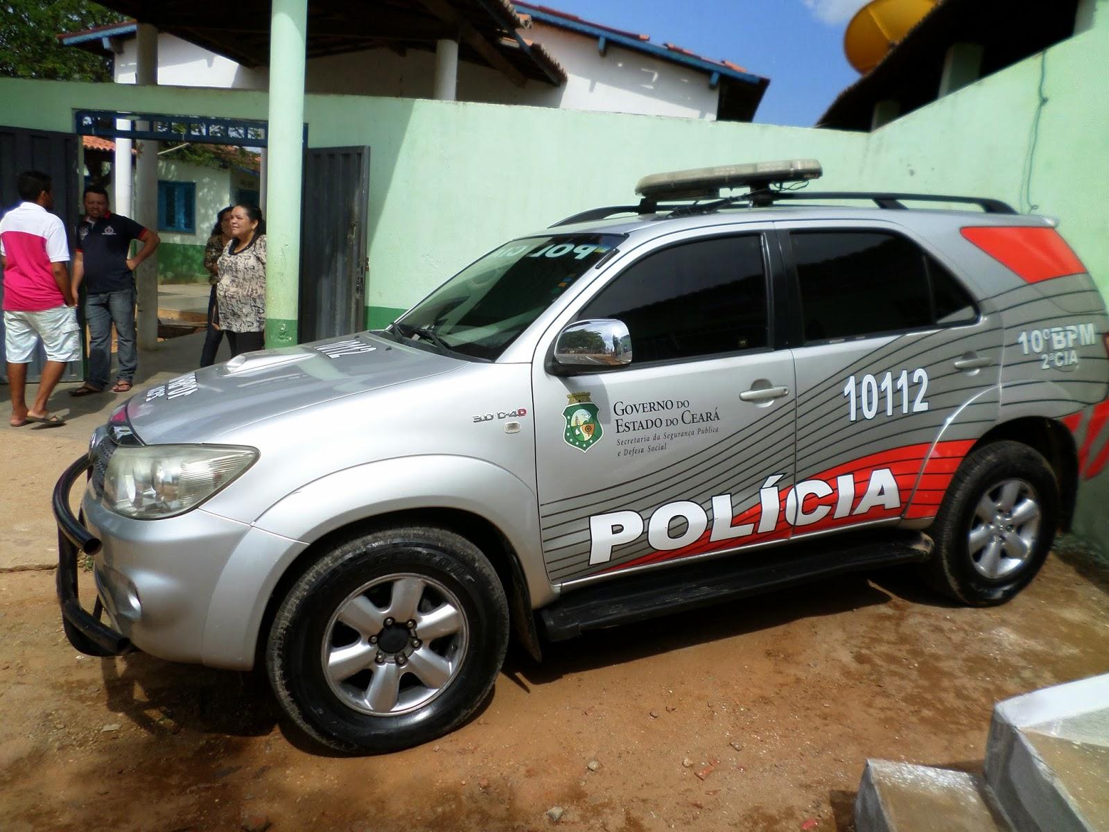 REINAUGURAÇÃO DO POSTO POLICIAL DE LIMA CAMPOS - CE