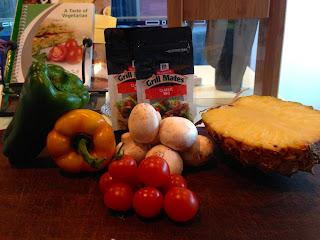 McCormick Grill Mates - vegetable skewers