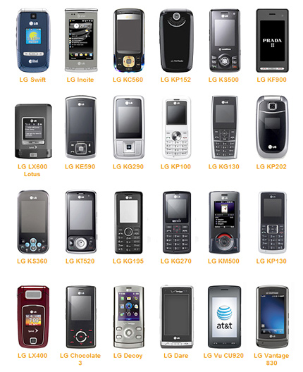 Codigos para Resetear tu celular LG