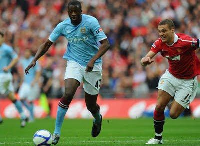 manchester united FA Cup semifinal Nemanja Vidic Manchester United