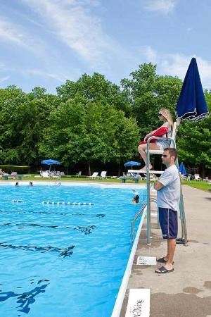 Blondie In The Water Blondie In The Pool