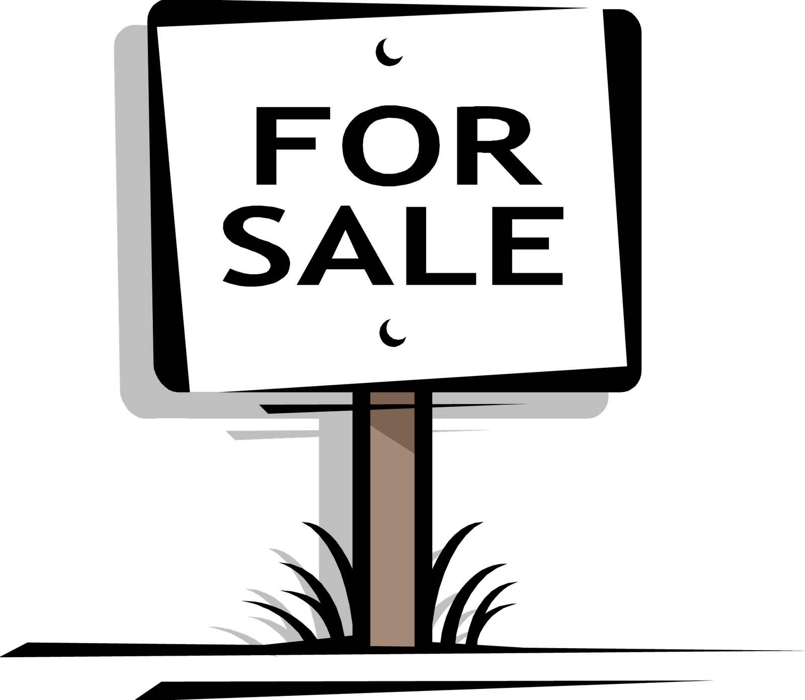 4 Sale Sign  House For Sale Sign Template