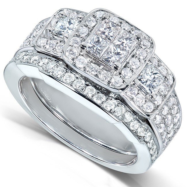 Ladies Diamond Wedding Ring Sets Rings For Women Wedding Unique Vintage Wedding Rings