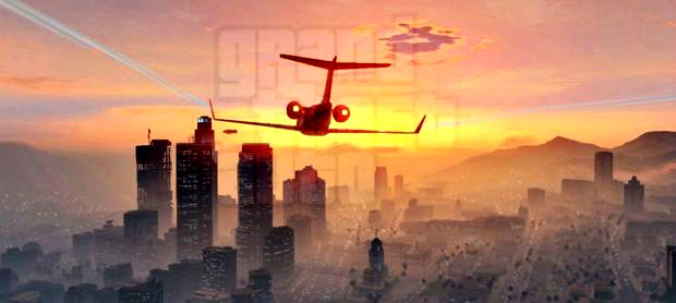 Grand Theft Auto 5 Jets